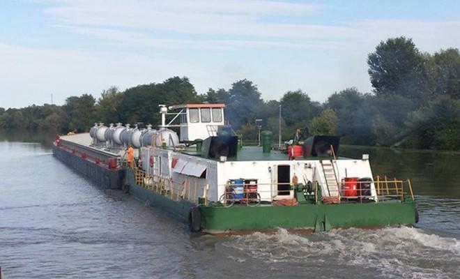 Project cargo via fiume da Rovigo