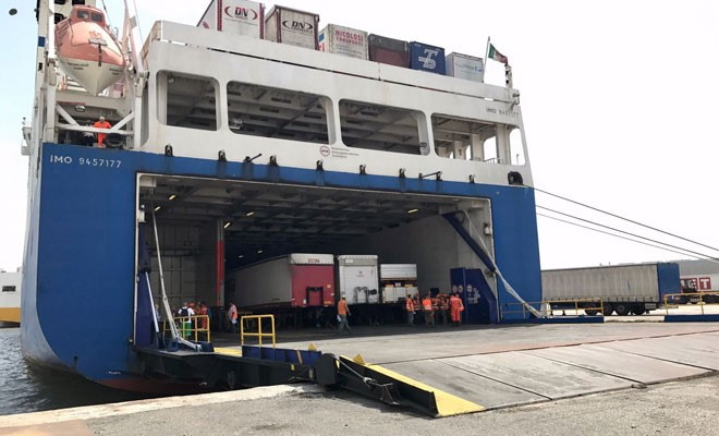 Il terminal traghetti potrebbe cambiare sede