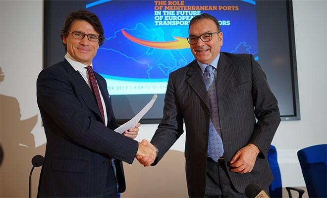 Firmato accordo cooperazione per corridoio Adriatico -Tirreno