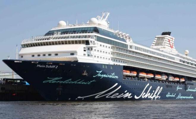 Arriva la Mein Schiff della Tui Cruises