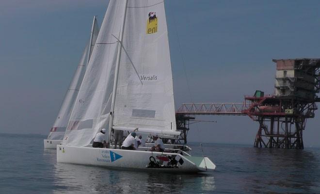 Eni, la veleggiata alle piattaforme ha chiuso il trofeo E-Vela Club