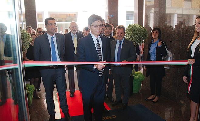 Inaugurata la sede di CMIT-Europe