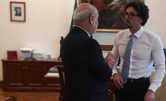 Marcucci e Russo incontrano il ministro Toninelli