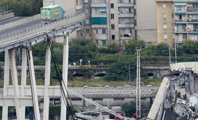 Crollo ponte Morandi, emergenza viabilità