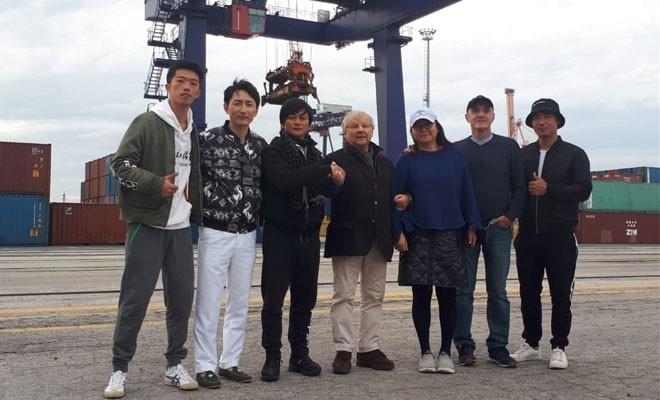 Film cinese girato al terminal container