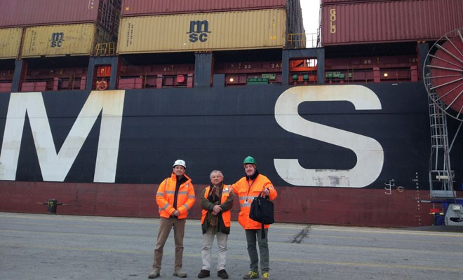 La Msc Manya al Terminal container