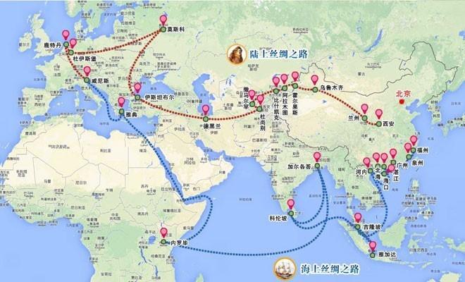 "I giornali cinesi: ""Ravenna sulla Via della Seta"""