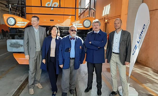 Nuove locomotive Cz Loko per Dinazzano Po