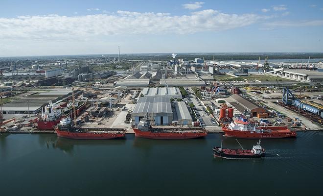 Rosetti Marino costruirà nave per bunkeraggio Gnl