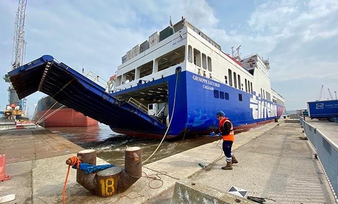 Il terminal traghetti T&C non risente l