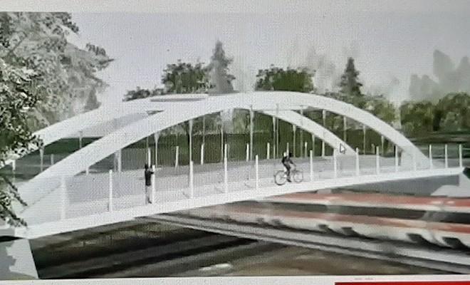 Via il Ponte di Teodorico per far transitare  i nuovi treni merci