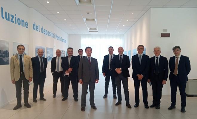 Confindustria Romagna visita la mostra sul centenario della Pir