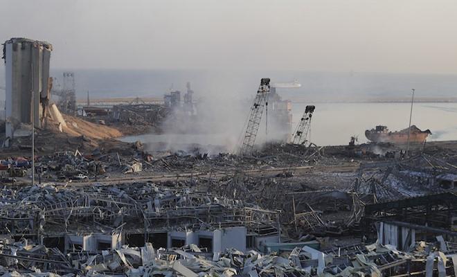Paralizzato il porto di Beirut