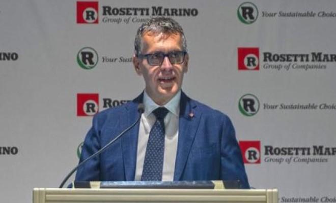 Rosetti Marino tra CO2 e superyachts