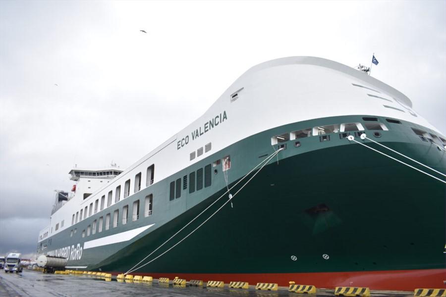 Eco Valencia, è italiana la nave con meno emissioni al mondo