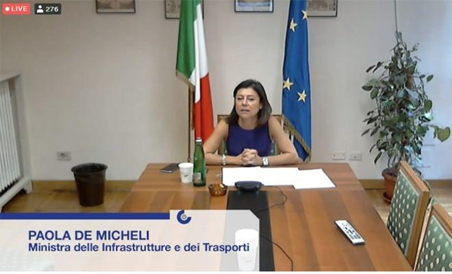 """De Micheli: """"Ricorso alla Corte Europa contro la decisione di Bruxelles sulle tasse ai porti italiani"""""""