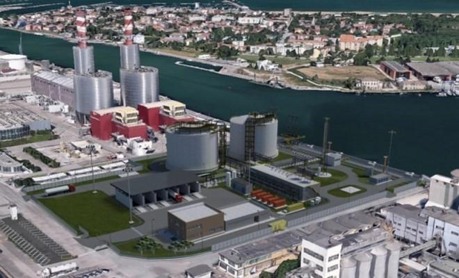 Da ottobre operativo il deposito di Gnl sul porto