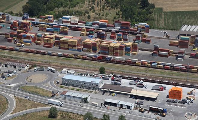 Aumenta in Emilia Romagna il trasporto di merci su treno
