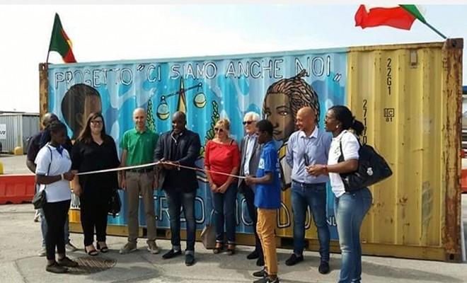 Il Container del Sorriso in partenza per il Camerun