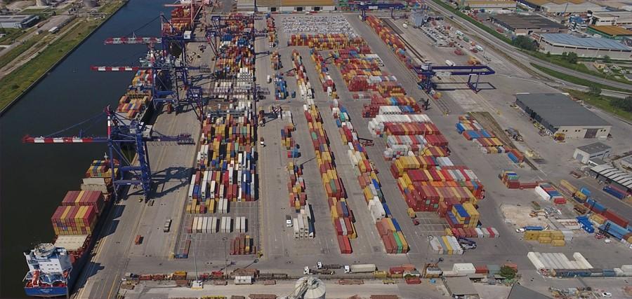 Nel primo trimestre i container del Tcr crescono del 12%