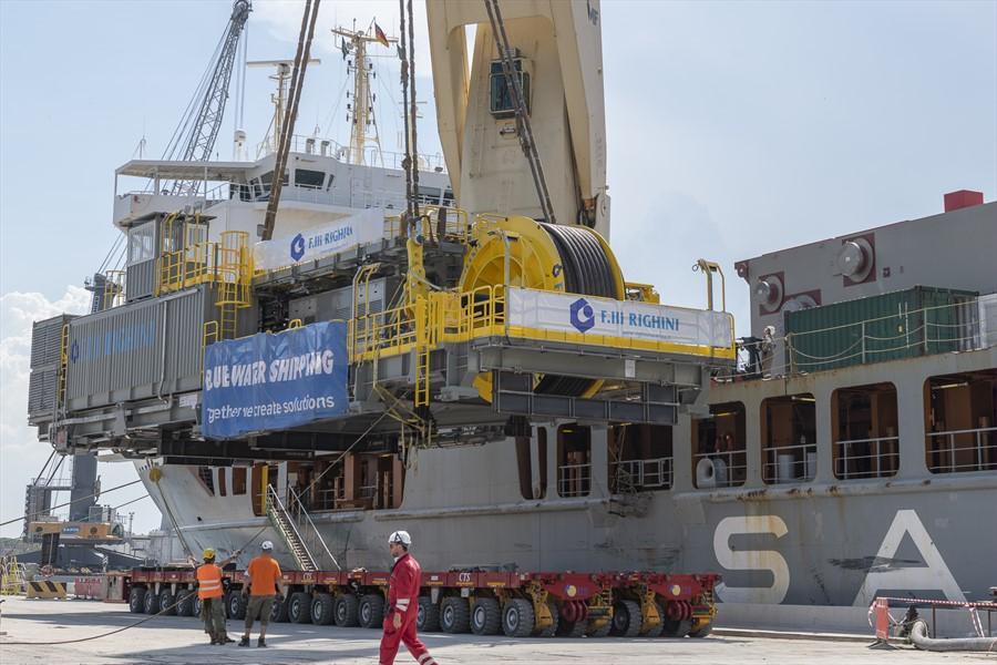 Nuovo impianto oil&gas di Righini partito dal terminal Sapir