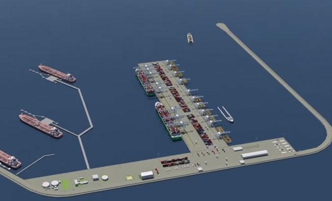 Il progetto del porto offshore alla 4C3