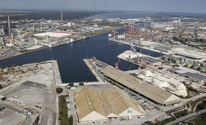 Le navi in arrivo in crescita del 6,9%