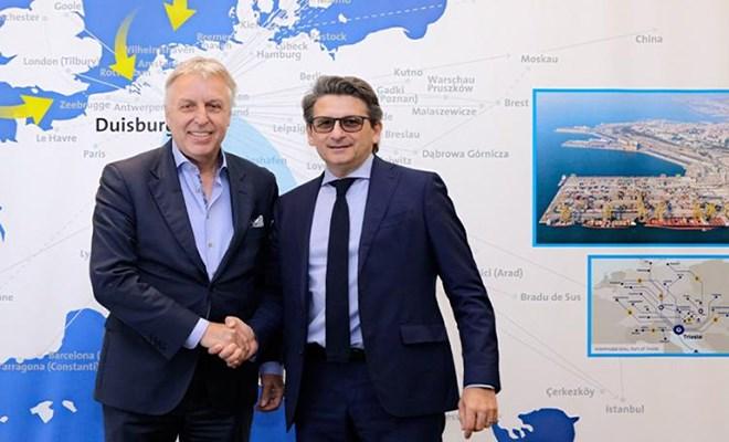 Partnership con il porto tedesco di Duisport