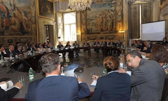 Mario Mattioli verso la presidenza di Confitarma